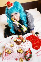 Vocaloid Miku- MERRY CHRISTMAS MY FRIENDS