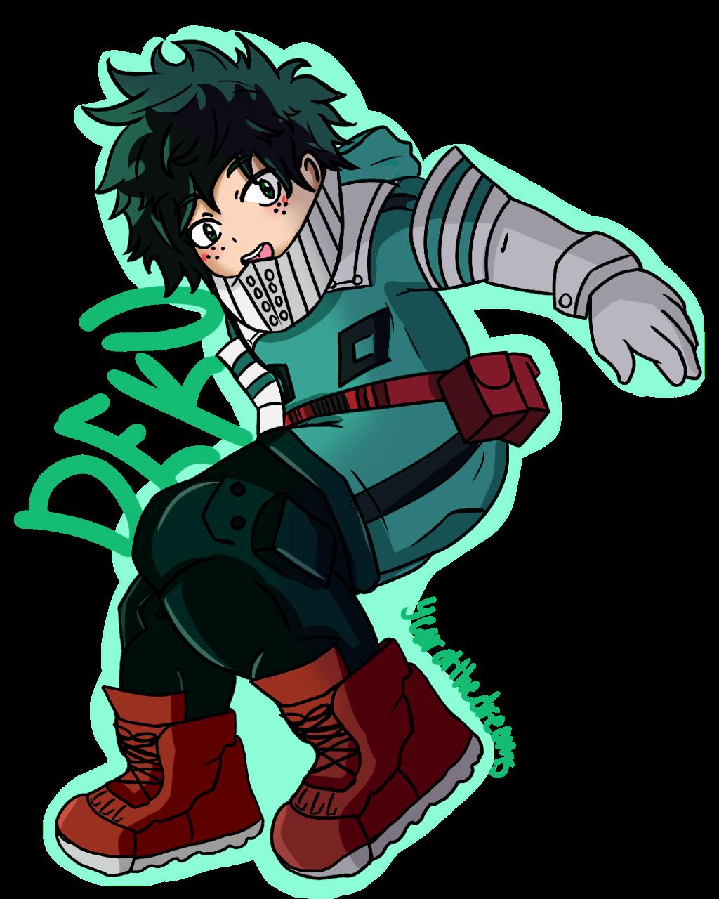 My Hero Academia Png: Deku (Transparent) By Noomimono On DeviantArt