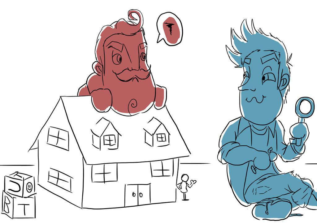 Hello Neighbor 'little Ones' By CherilDevalet On DeviantArt