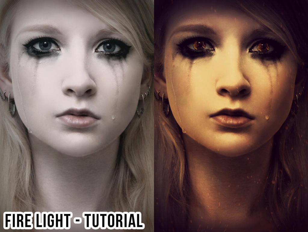Fire light tutorial by LB-digital