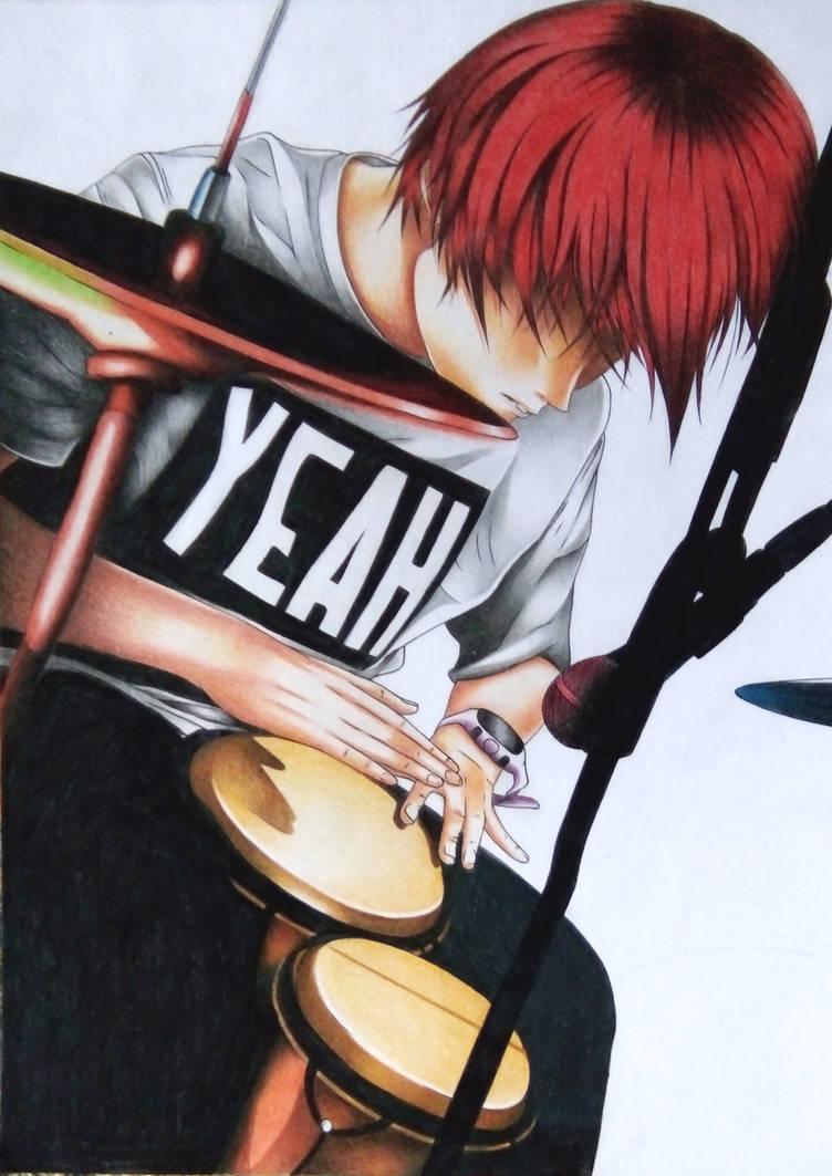 Anime Drummer By Jhudegarcia On Deviantart