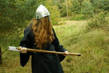Medieval Monk Berserker