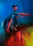 Batgirl color sketch