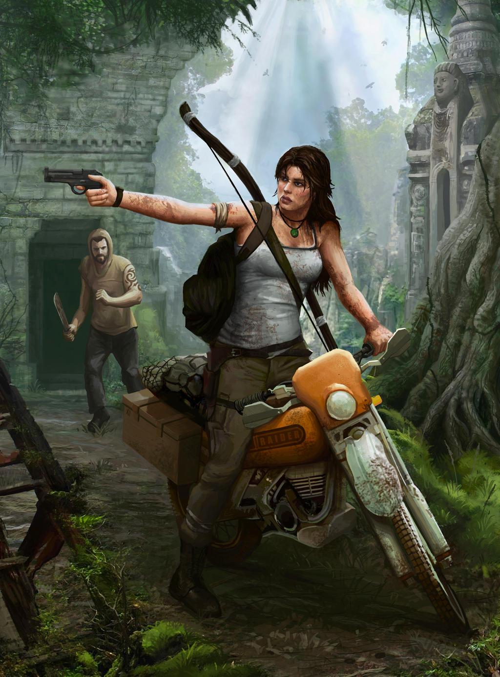 Lara Croft Tomb Raider 2013 by squiffel