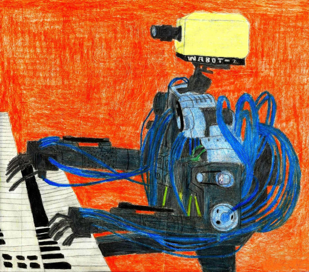 Image result for robot piano player