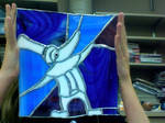 Excalibur Stained Glass