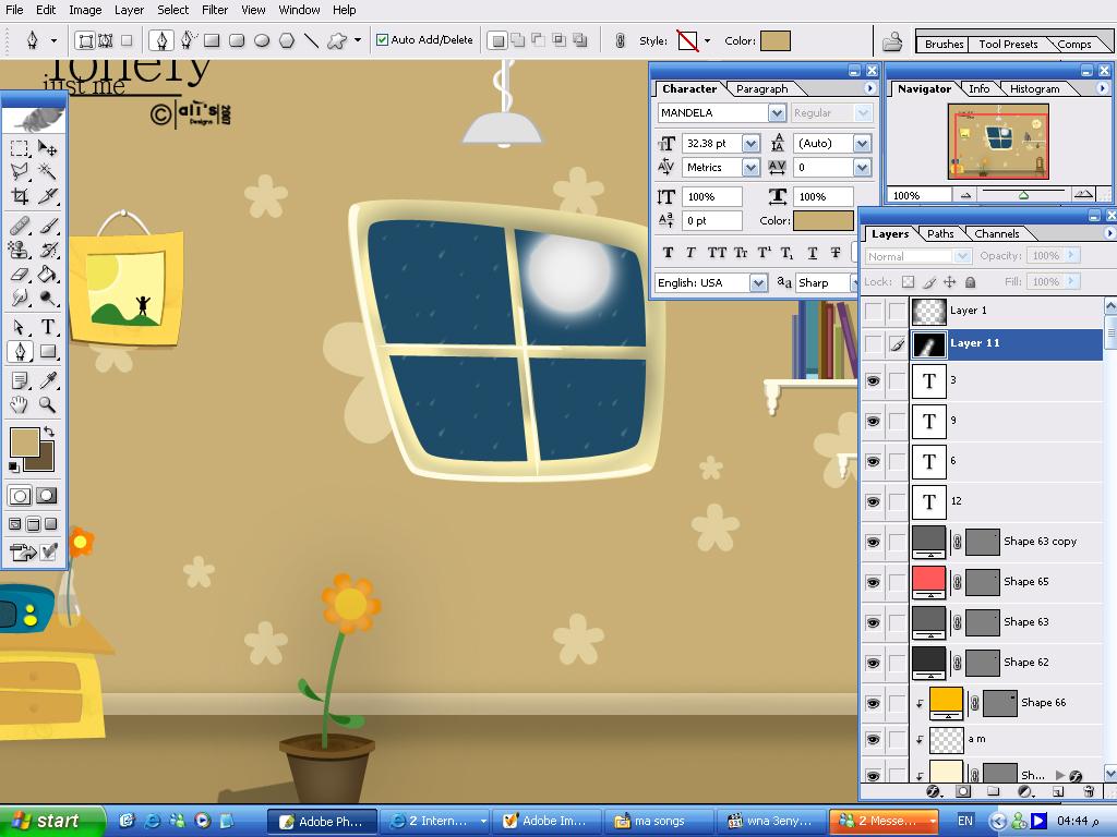 my desktop by legeneral
