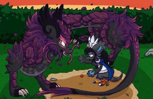 DM #5 - Dragonslayers - Shilya by VioletDanka