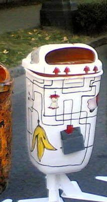 Trash_Project_3D on the street