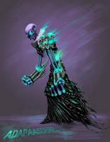 skull cyborg con video. by adapaasderel