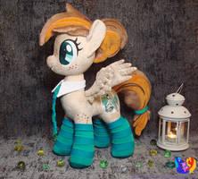 Pony plush OC Tek Gniwelttil by 1stAstraStudio