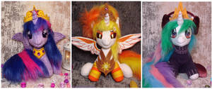 Daybreaker, Twilight Sparkle, Princess Celestia