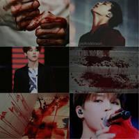 El Dorado - Jimin Blood Collage