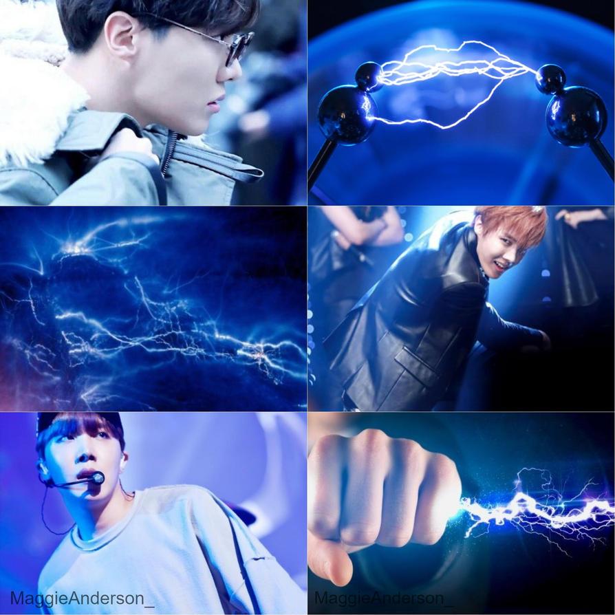 El Dorado - Hoseok Electric Collage by LoveEzreal