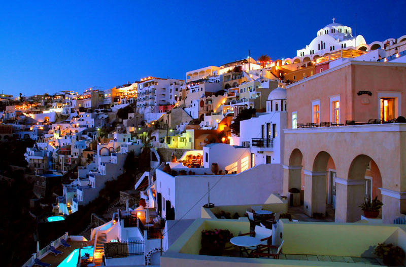 Must see Wallpaper Night Greece - santorini_at_night_by_xiotis  Photograph-69358.jpg