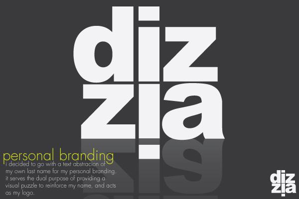 personal branding by dizzia