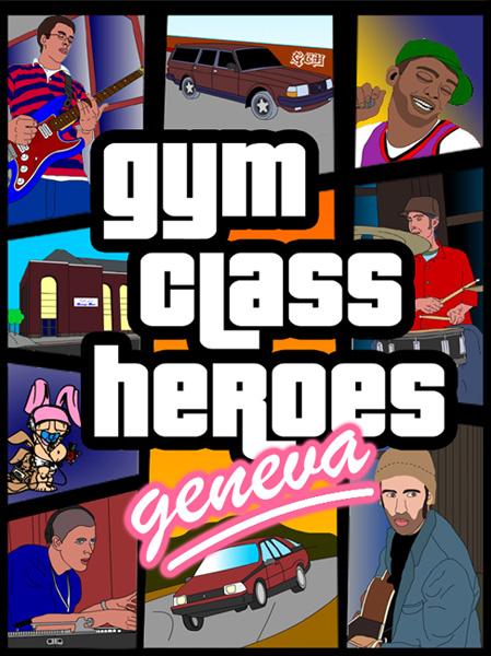 Gym Class Heroes - Posterwork by dizzia