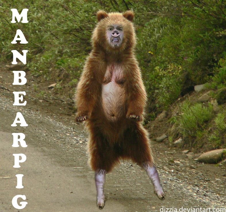 Manbearpig by dizzia