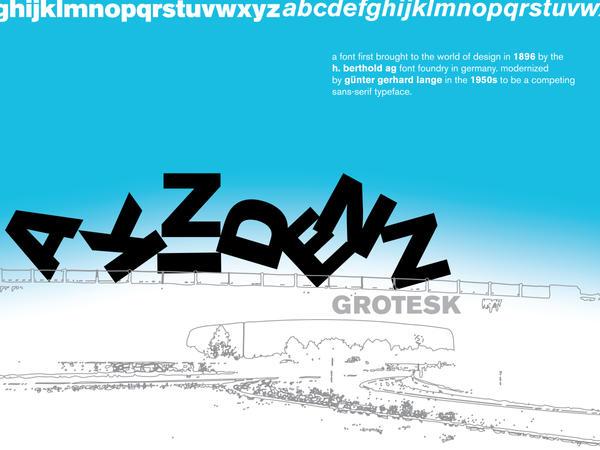 Akzidenz Grotesk : Poster by dizzia
