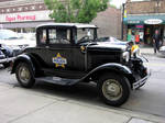 1931 ford cop car