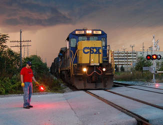csx 7617 by JDAWG9806