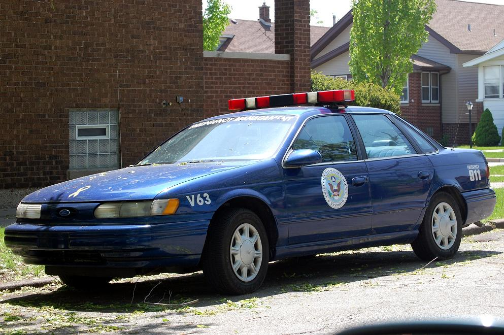 Old Ford Taurus Cop Car By Jdawg9806