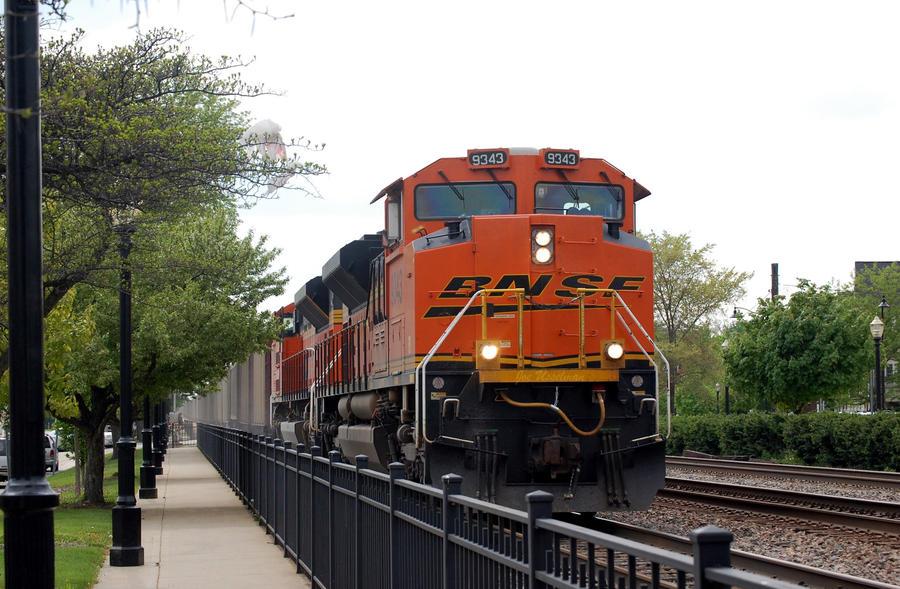 Bag n a train by JDAWG9806