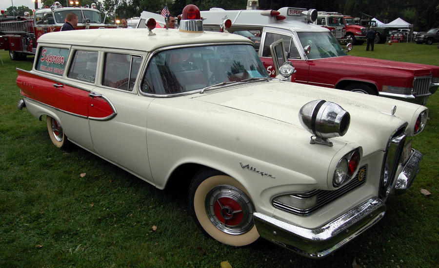 1958 Edsel ambulance by JDAWG9806