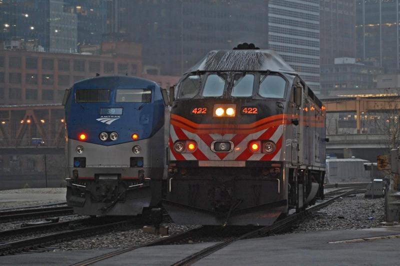 When Amtrak met Metra by JDAWG9806 on DeviantArt