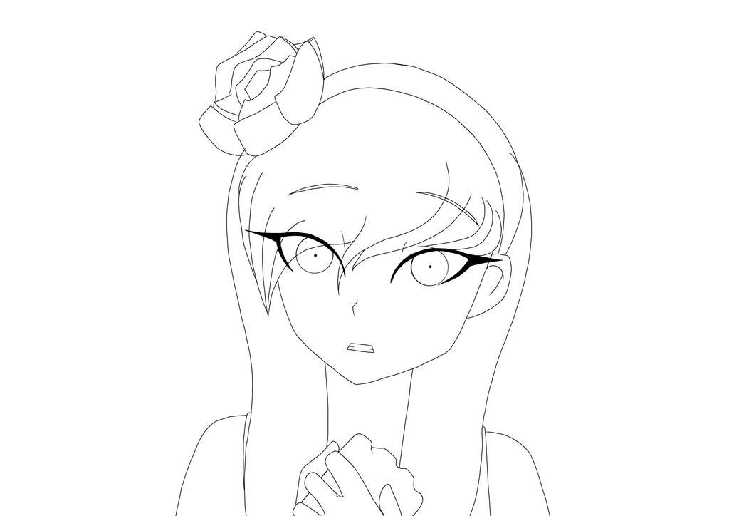 Putty Line Drawing Q : Shira line art by artofaslytherin on deviantart
