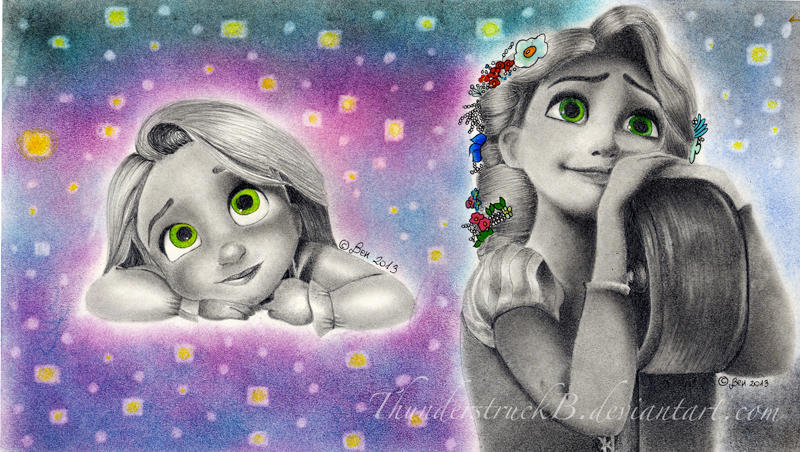 Rapunzel- Warm and real and bright