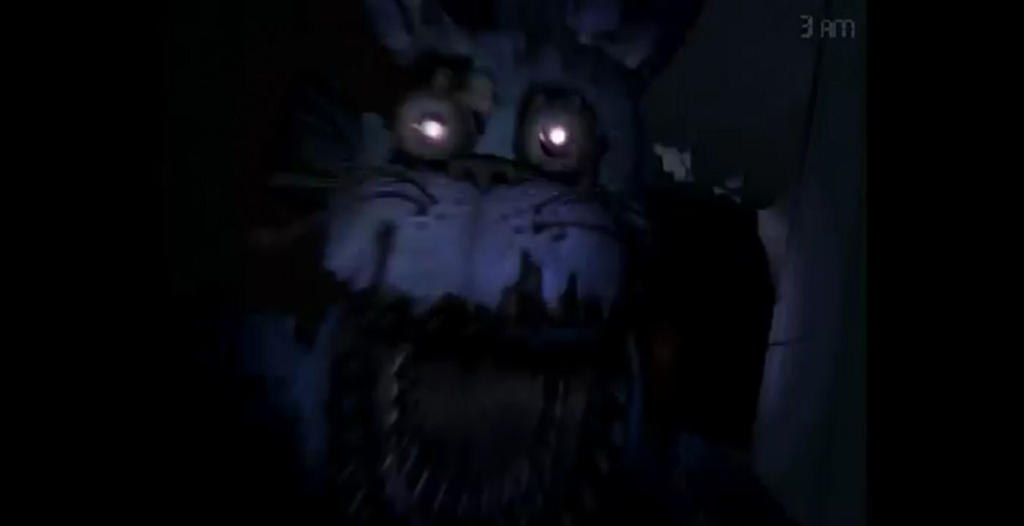 Nightmare Bonnie Jumpscare 1 By Zerogamingofficial On