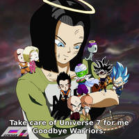 Farewell Android 17 by Gokhan-Art