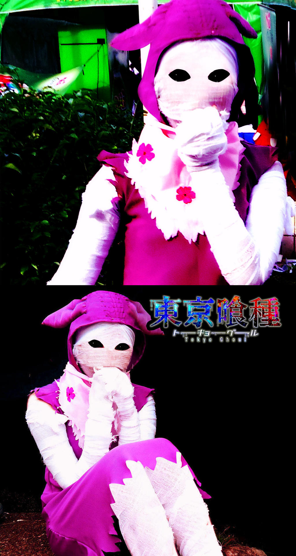 Tokyo ghoul eto cosplay
