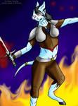 Pymetria the Warrior