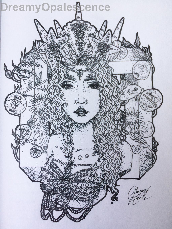 Queen of the Sea by DreamyOpalescence