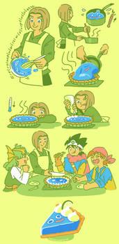 key slime pie