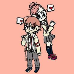 Risa and Otani by MissStrawberry28