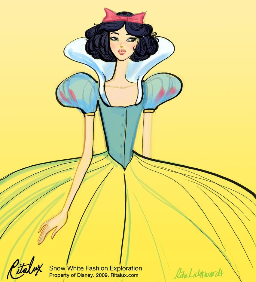 Disney Princess Snow White Fashion Exploration by RitaLux