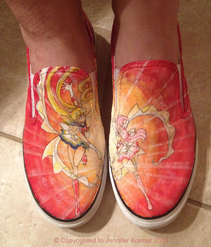 Super Sailor Shoes by Jenni-san