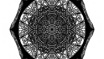 Mandala - Blackwhite - 1
