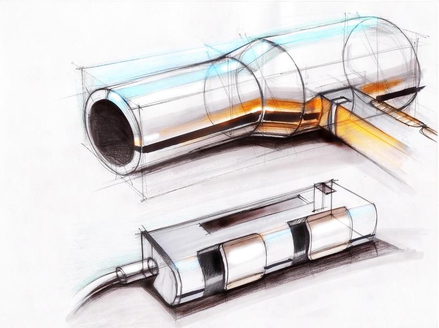 Sketch Of A Hairdryer By Oriondeft On Deviantart
