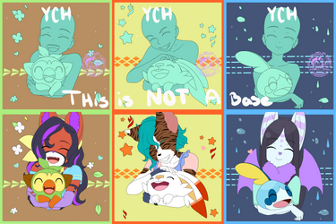 (Open Ych $5) Pokemon Starters