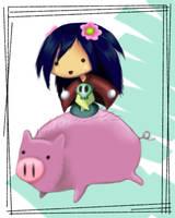 Piggah by DDRshaman38