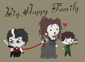 Happy Family -Sweeney Todd- by DDRshaman38