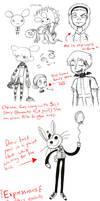 Sketch Dump + WL Junk by DDRshaman38