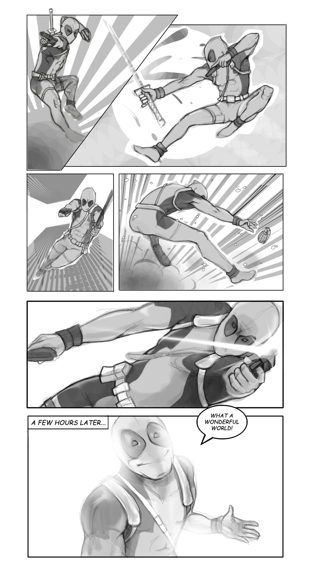 A Deadpool Day by Nee-Jaku