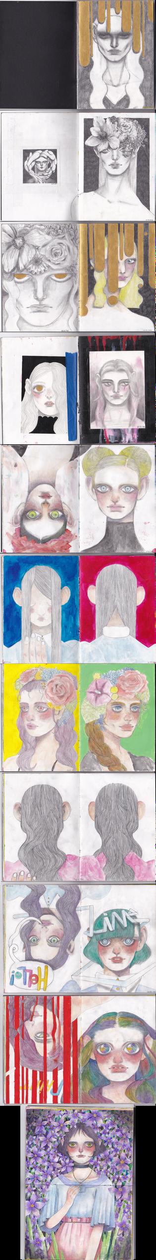 may-aug sketchbook 1 by likrot