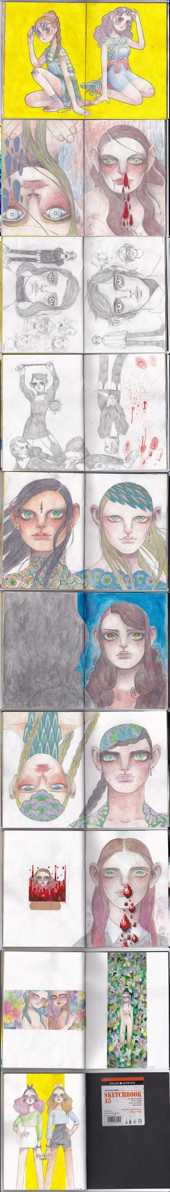 may - aug sketchbook 2 by likrot