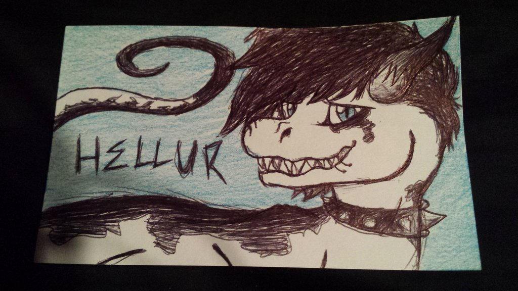 Hellur! by DiscoFrisco1